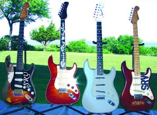 SRV Guitar Collection Auction  ~ Strat-O-Blogster Guitar Blog