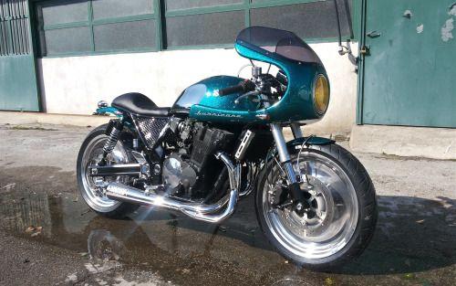 Suzuki Inazuma Cafe Racer by Giancarlo Rauso of Ironbike Garage #motorcycles #caferacer #motos   caferacerpasion.com