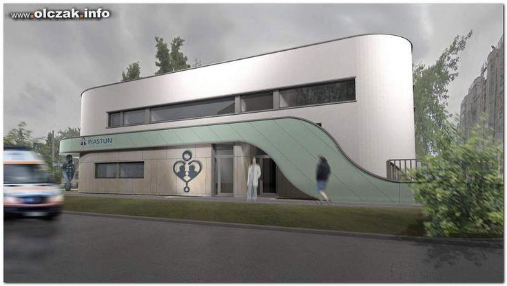 Architekt Maciej Olczak - projekt przychodni lekarskiej