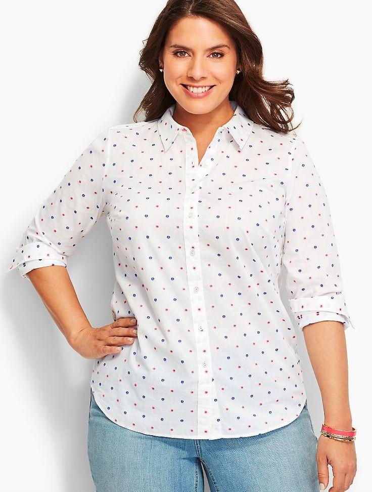 https://www.talbots.com/online/plus-size/sale/blouses-and-shirts/the-classic-casual-shirt-clip-dots-prdi42142/N-10598 10157 4294966635?conceptDim=4294966550