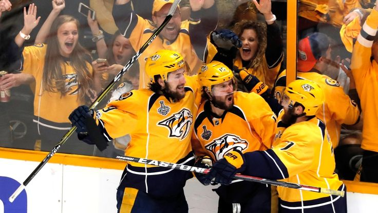 The Associated Press   PekkaRinneand the Nashville Predators are very hard to beat on their own ice this postseason, and now they have added their biggest piece of franchise history yet. A victory in the Stanley Cup Final. The embattledRinnenot only started, he made 27 saves.... - #Fans, #Front, #News, #NHL, #Penguins, #Predators, #Raucous, #Rout