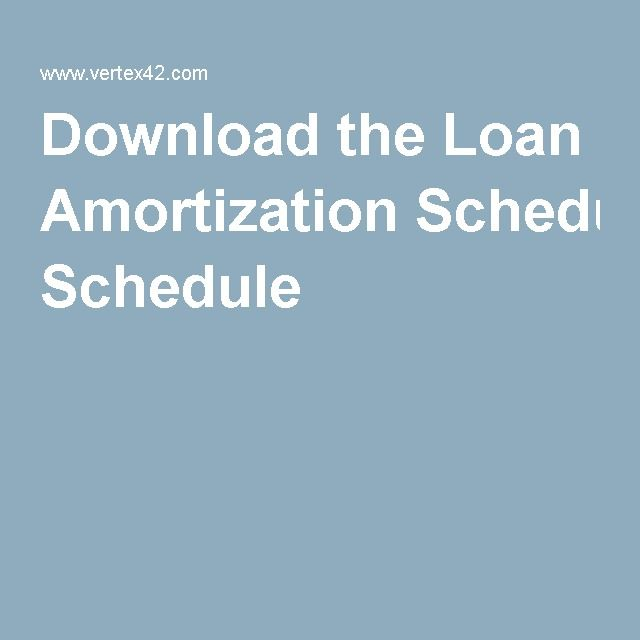 Best 25+ Amortization schedule ideas on Pinterest Student loan - loan calculator template