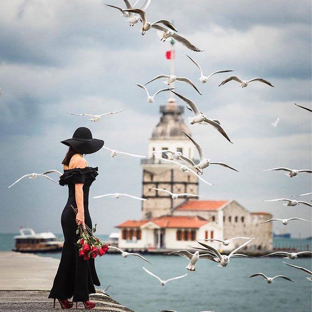 Istanbul, Turkey ... Photo by ✪ @zihniguler_ Model ✪ @aynursdiary #istanbul #turkey