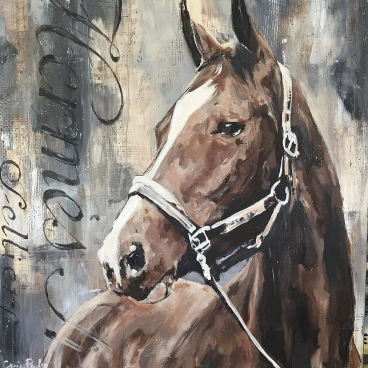 On canvas 36x36 #carriepenleyart #equestrianstyle #horses #hermes #hermesbrothers                                                                                                                                                                                 Mais