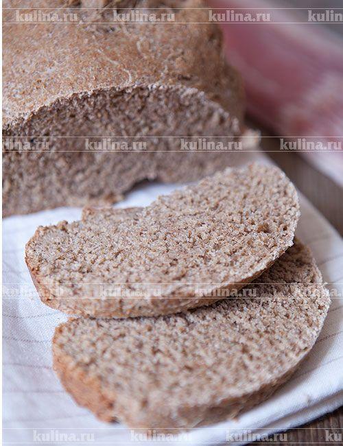 Хлеб с отрубями - рецепт с фото