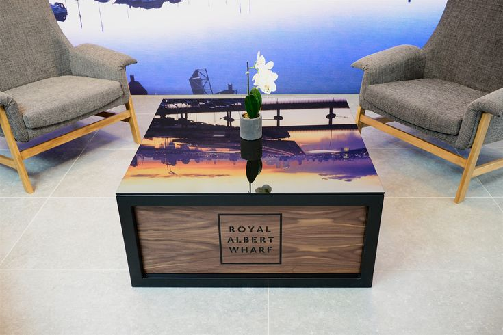 Royal Albert Wharf marketing suite - Octink