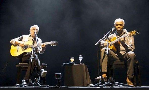 """""""Canta, Tel Aviv!"""". Com 27 músicas, Gil e Caetano põem a arte acima da política."""