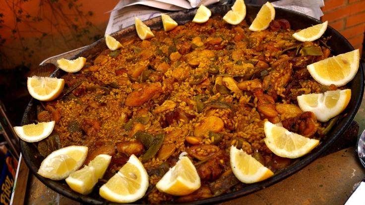 Authentic paella valenciana