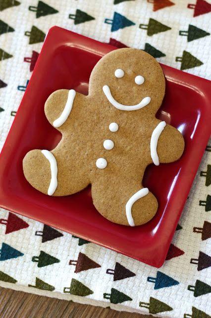 Sarah Bakes Gluten Free Treats: gluten free vegan gingerbread men cookies