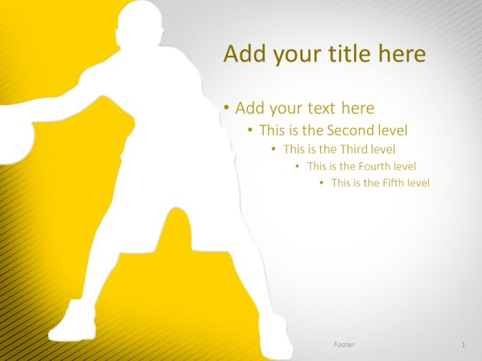 Best Sport Powerpoint Templates Images On   Free