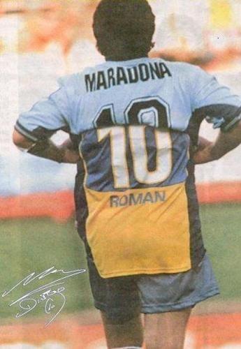 Despedida Maradona