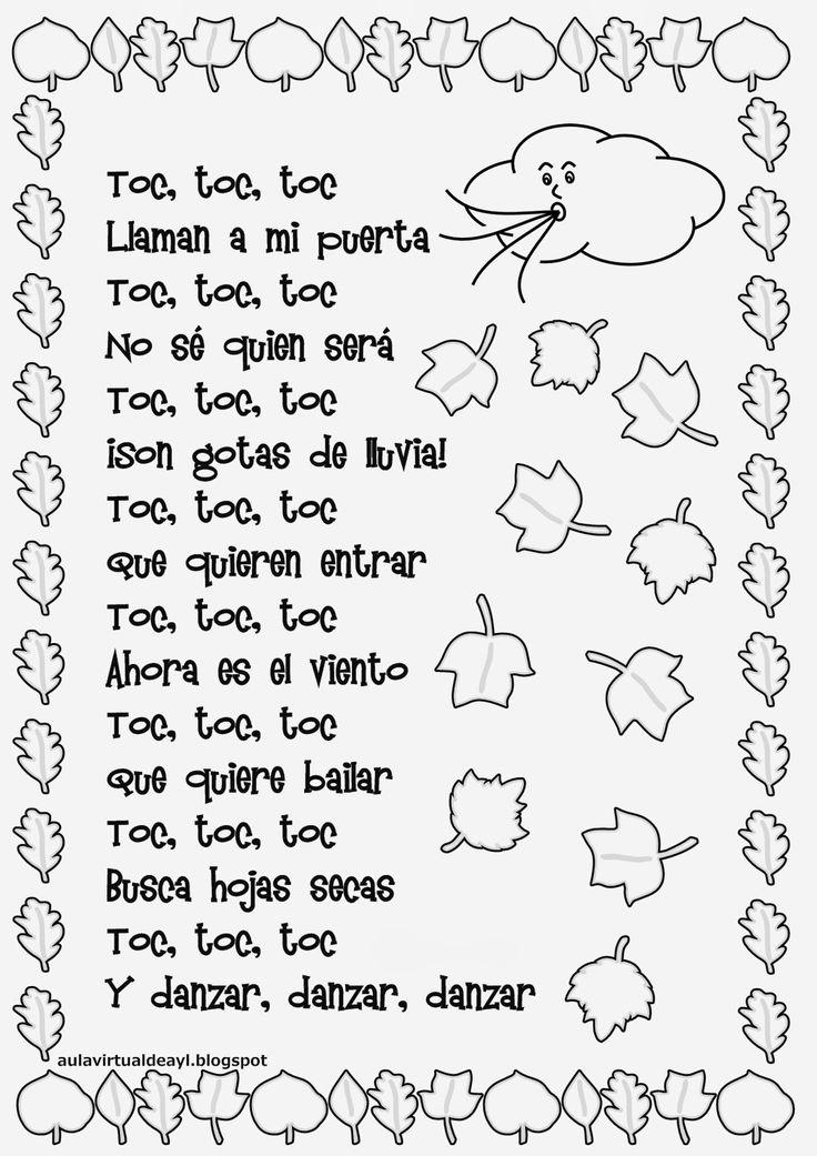 Aula virtual de audición y lenguaje: Poemas de otoño                                                                                                                                                                                 Más