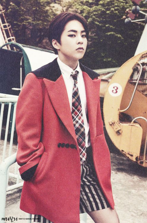 xiumin love me right exo pinterest posts