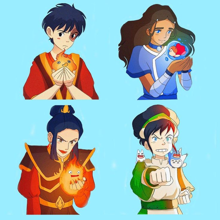 More studio ghibli themed avatar characters credit to