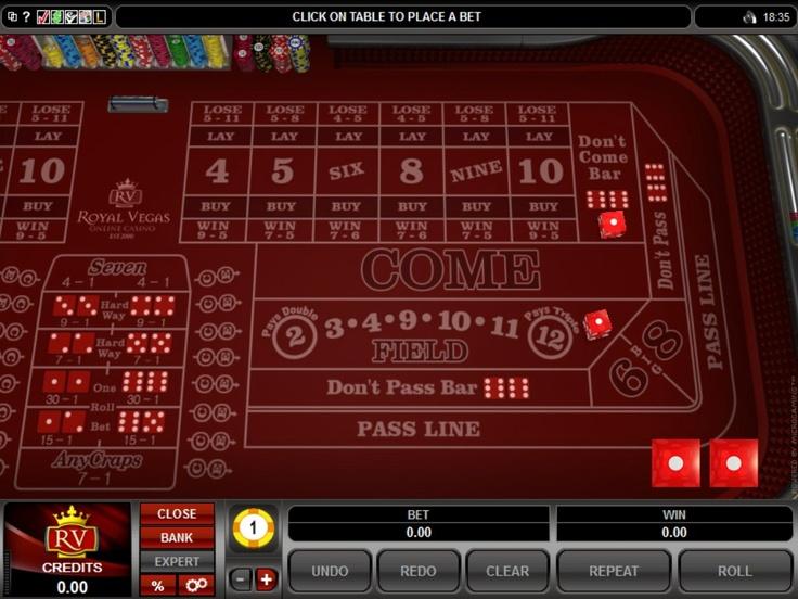 Craps   Royal-Vegas