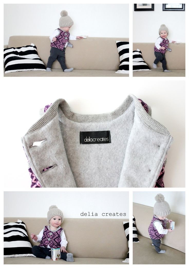 flip vest pattern / sewing for kids