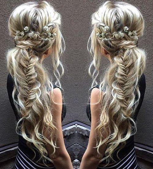 Simple Braided Hairstyles For Prom : Best 25 side ponytail prom ideas on pinterest bridesmaid side