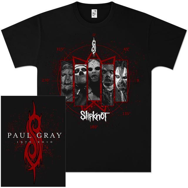 Check out Slipknot Paul Gray Masks T-Shirt on @Merchbar.