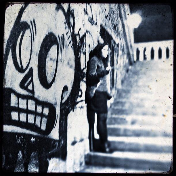 Skull Girl #steel - @tonick- #webstagram