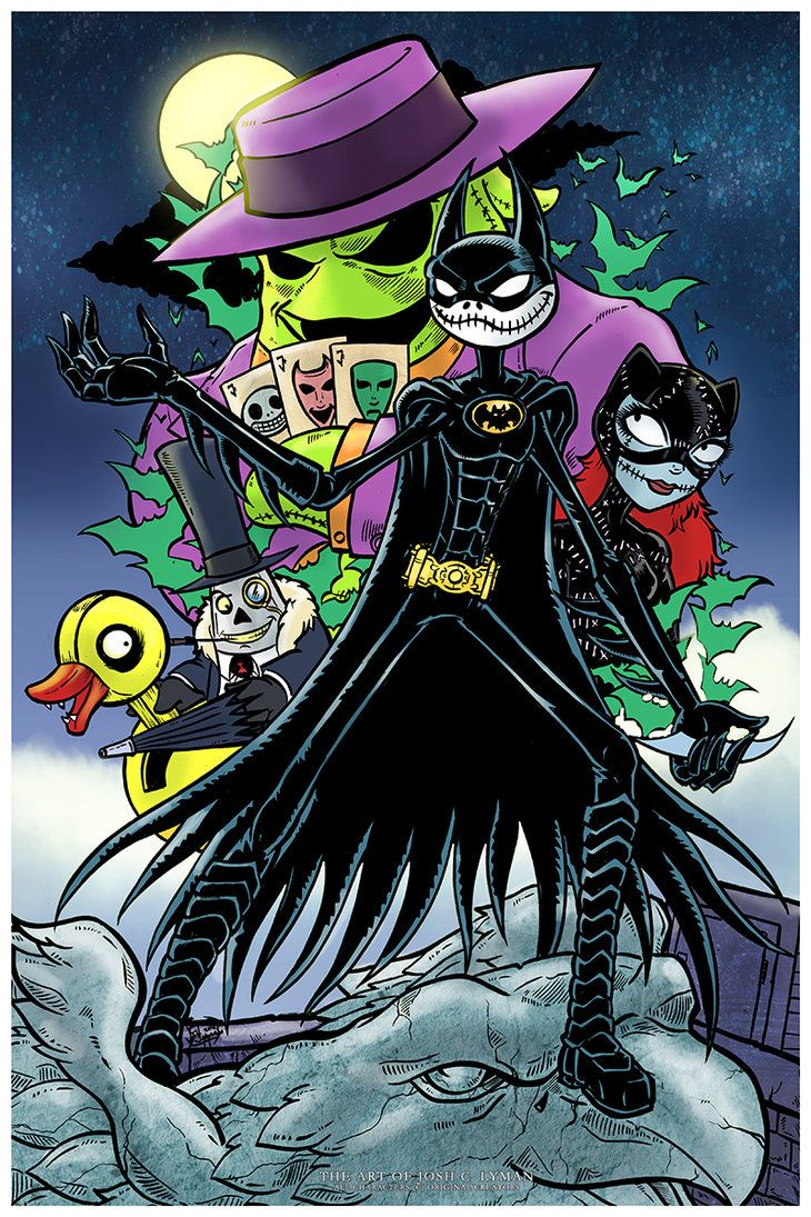 Bat Jack Returns by TheRealJoshLyman on deviantART. OMG I DONT KNOW WHERE TO PIN THIS!!!! ITS SO INCREDIBLY AMAZING!