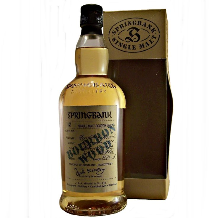 Springbank 12 year old 1991 Bourbon Wood Single Malt Whisky available to buy online at specialist whisky shop whiskys.co.uk Stamford Bridge York