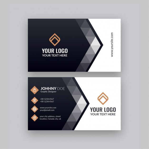 Business Card Free Business Card Design Visiting Card Templates Business Card Template Design