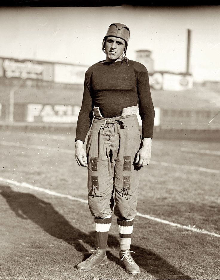Brown University football player (1914)