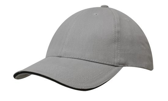 Cap Grey Black