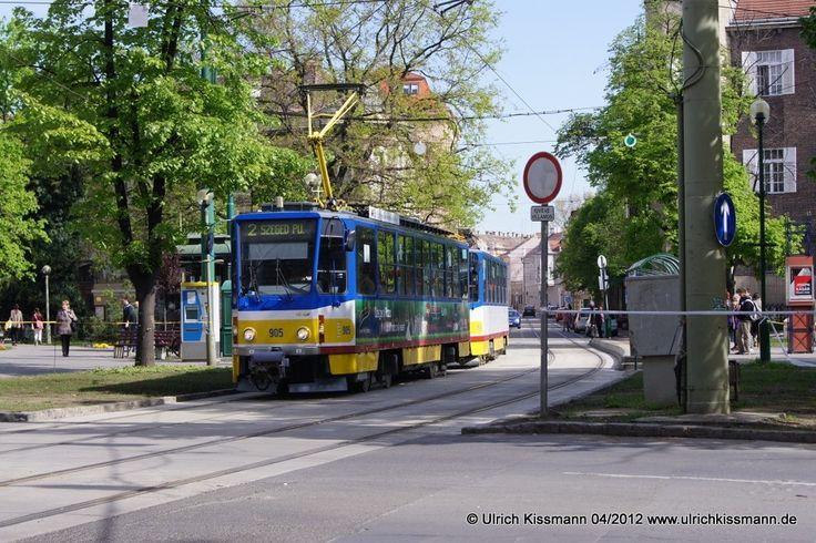905 Szeged Aradi vértanúk tere 20.04.2012 - (ČKD) Tatra T6A2