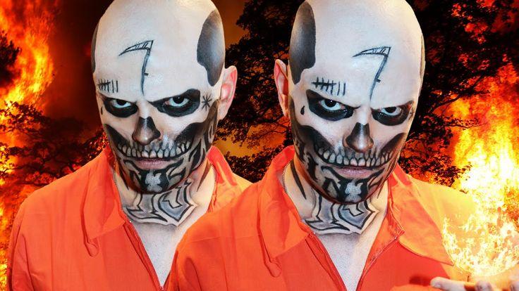 El Diablo - Suicide Squad - Tutorial Makeup Artist - Pinkstylist  Perfect *-*  https://www.youtube.com/watch?v=58o3pXWgnZE