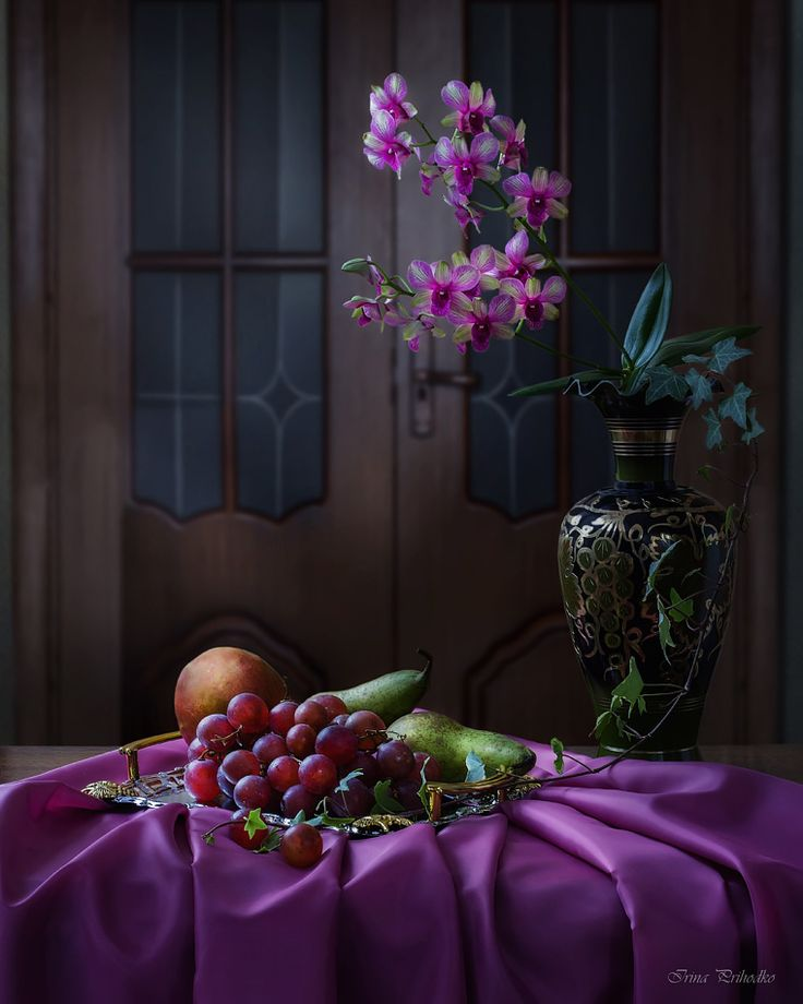 From the series with orchids by Daykiney.deviantart.com on @DeviantArt