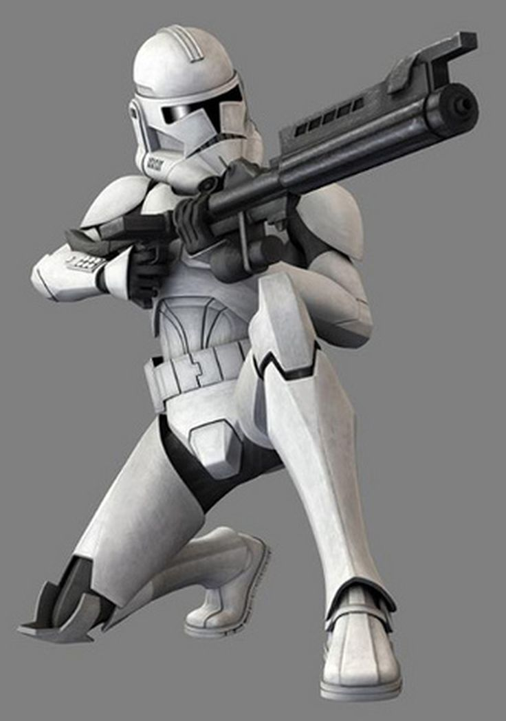 Clone troopers were an army of identical, genetically ...
