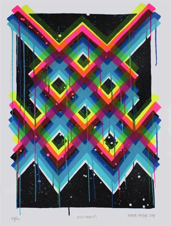 Multiverses by Maya Hayuk