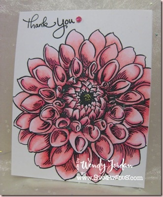 Fun with @Copic Markers.  I am teaching classes using three markers.    @Stampendous Stamps image.: Zentangle