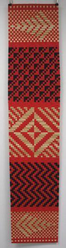Alexis Neal Maori weaving