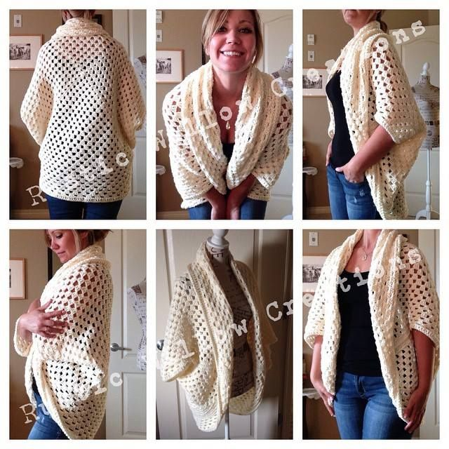 32fc1d134 Como elaborar un Cardigan Sencillo en Crochet