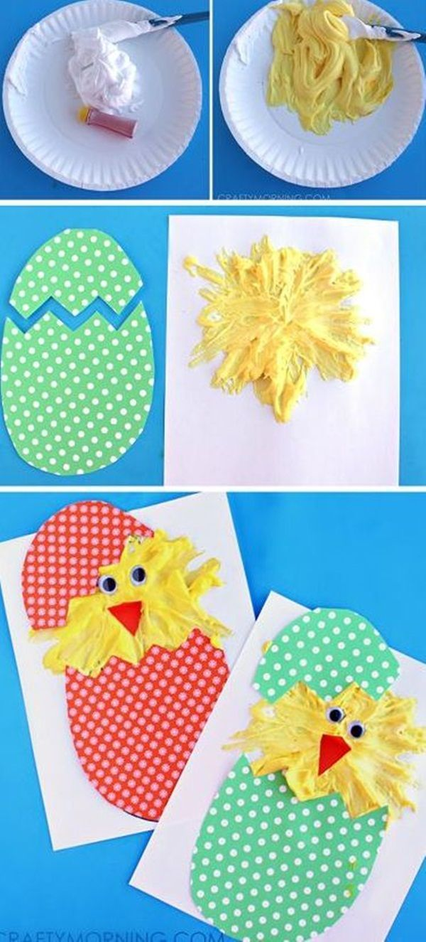 55 Effortless Easter Crafts Ideas For Kids To Make Eyfs Easter