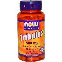 Omega 3 foods: Now Foods, Sports, Tribulus, 500 mg, 100 Capsules