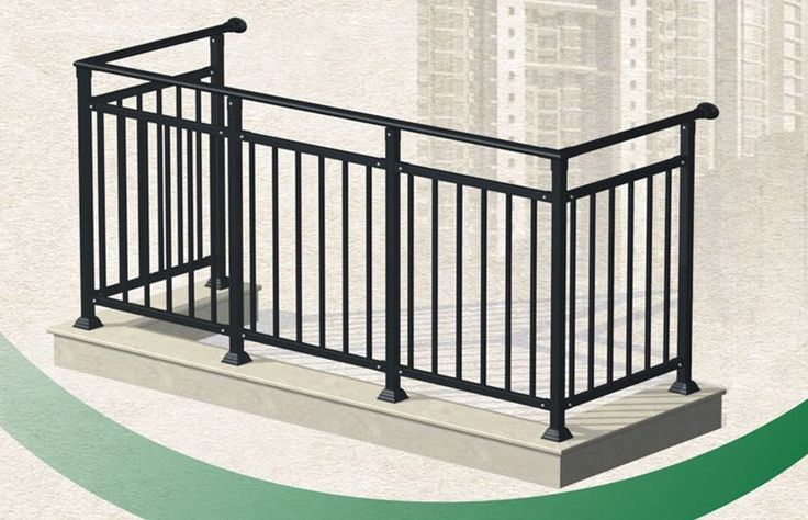 Iron balcony railing bing images balcony iron work for Exterior balcony railing design