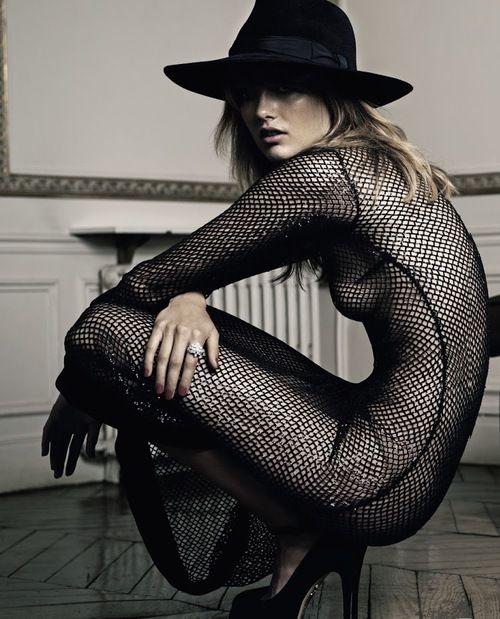 Karmen Pedaru By Claudia Knoepfel  Stefan Indlekofer For Vogue Russia August 2013.