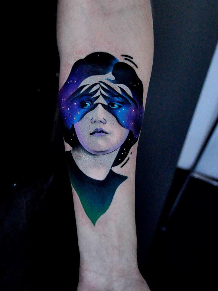 tatuagem surreal aleksander surowiec