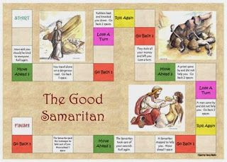 The Good Samaritan    Objectives:   The students will be able to  -retell the parable of the Good Samaritan  - explain the message of the ...