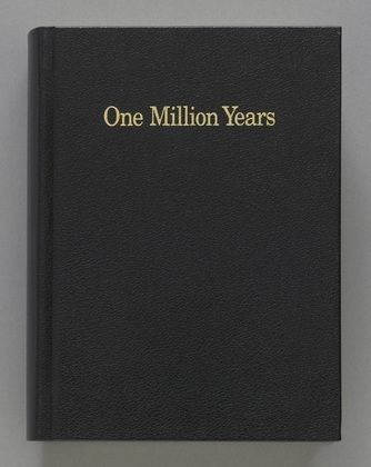 On Kawara, One Million Years, 1999