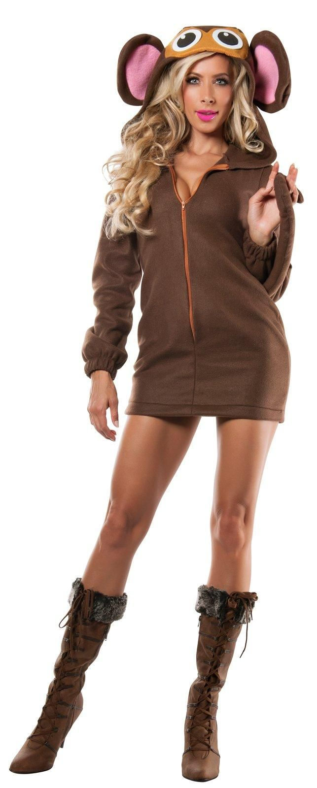 Womens Soft Monkey Costume from Buycostumes.com