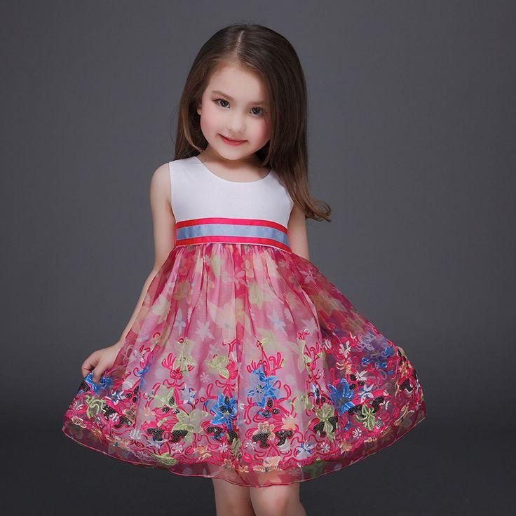 81 best vestidos de niña images on Pinterest   Dresses for girls ...