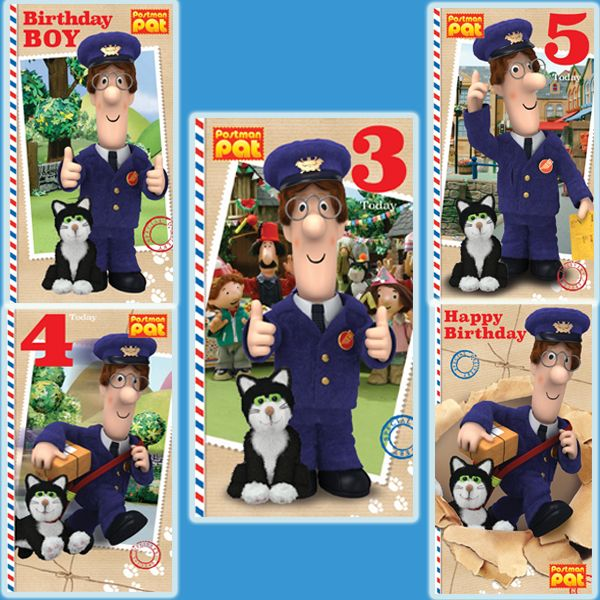 New Official Postman Pat Cards now available from publishers Danilo at https://www.danilo.com/Shop/Cards-and-Wrap/Postman-Pat-Cards