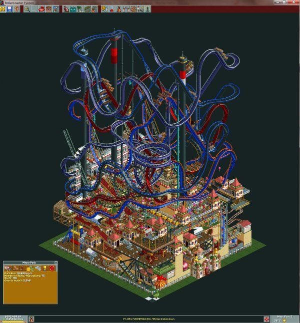 Roller Coaster Tycoon World Can T Build Rides
