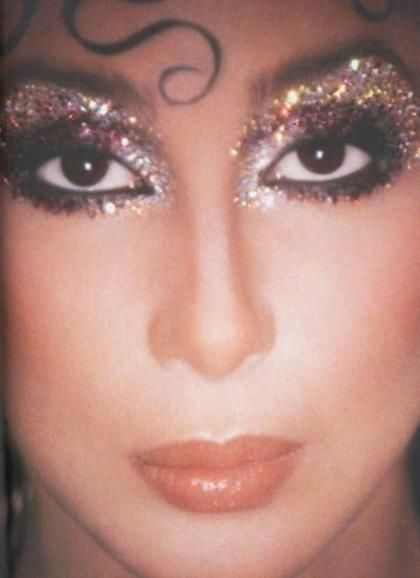 CHER - makeup by legend Kevyn Aucoin                                                                                                                                                      More