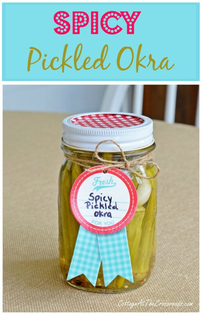 Do you love pickled okra but hate to pay grocery or specialty store prices? How to make homemade spicy pickled okra