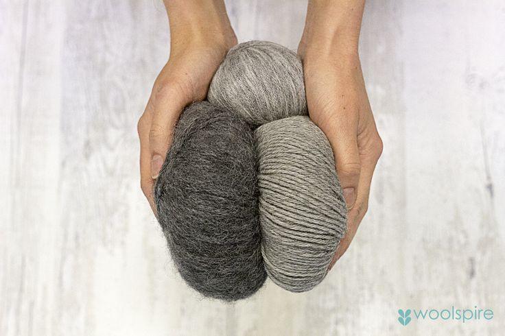Lovely yarn from Norwegian 'Du Store Alpakka'